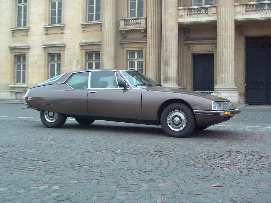 Citroën SM, carburateurs, 1972 (profil droit)