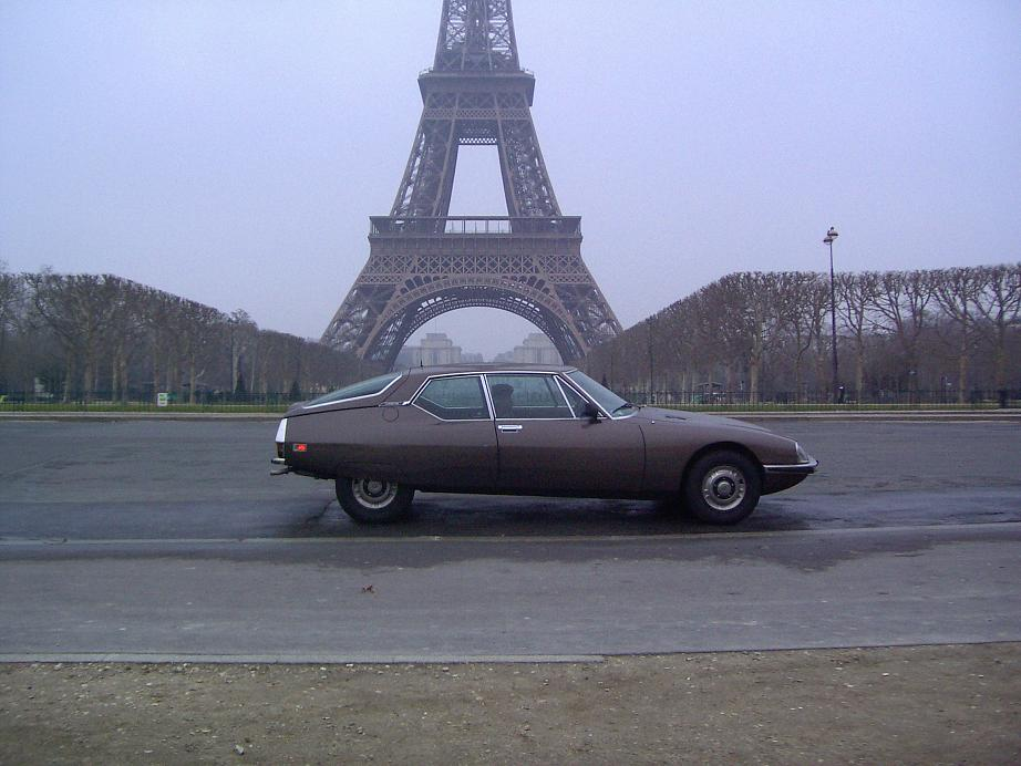 Citroën SM, carburateurs, 1972 (Tour Eiffel)