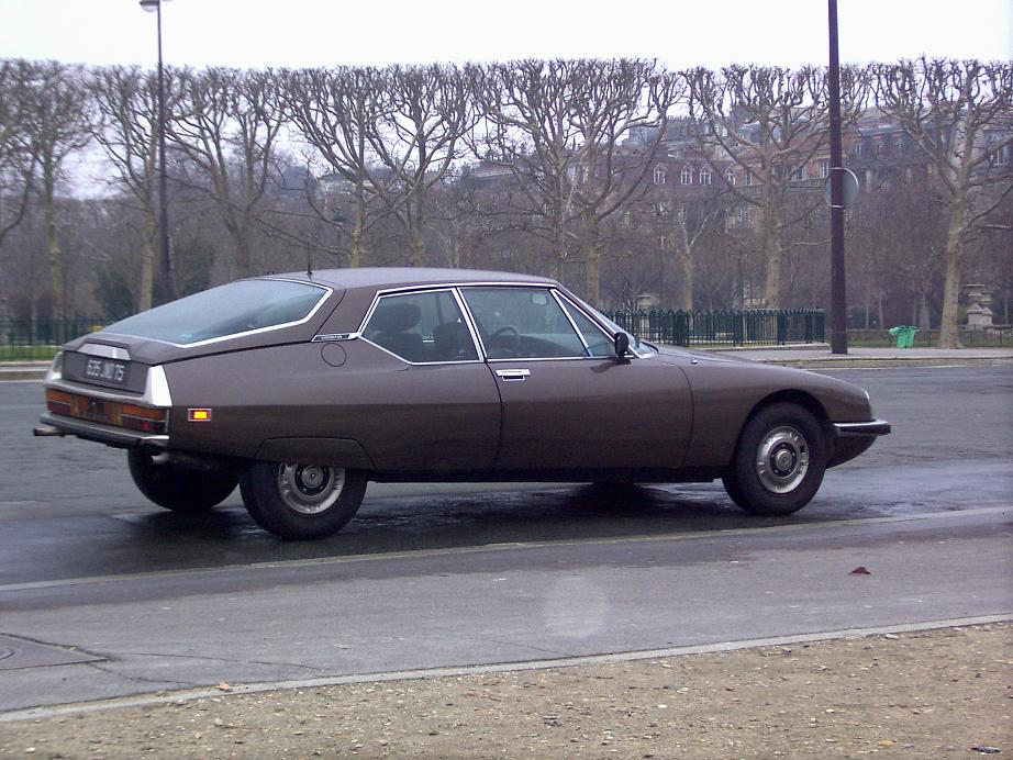 Citroën SM, carburateurs, 1972 (Champ de Mars)